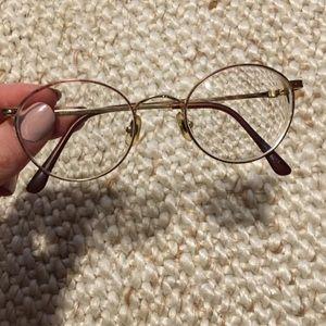 Vintage Laura Ashley glasses